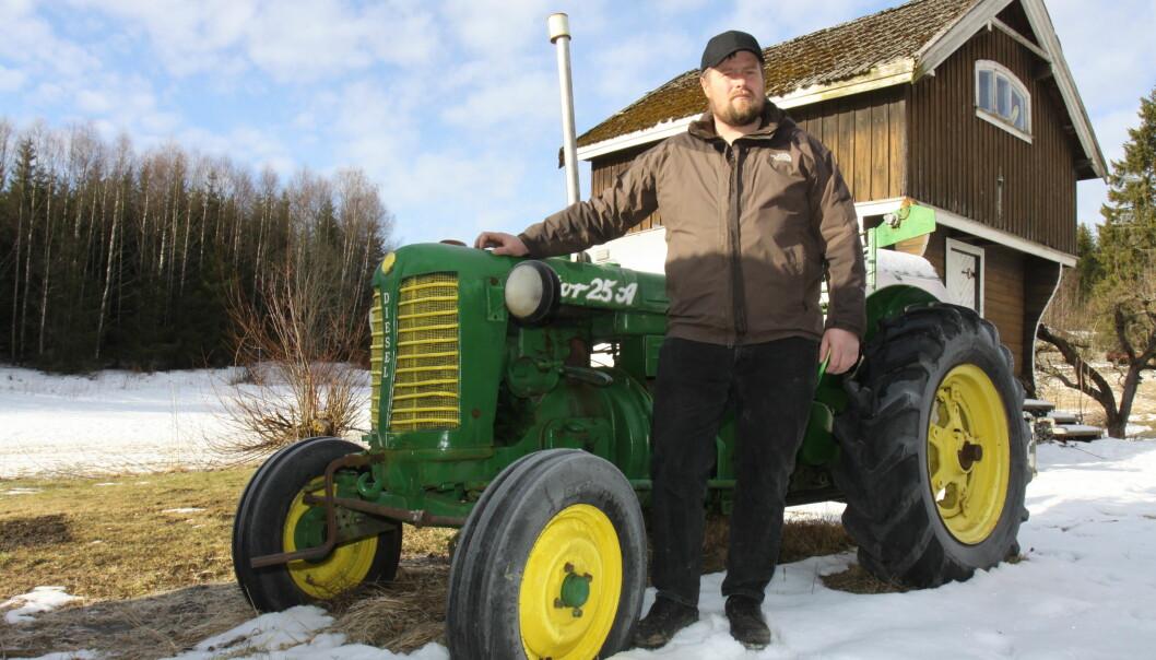 Petter Haugen kjøpte en Zetor 25A etter å ha hørt faren skryte av modellen i flere år.