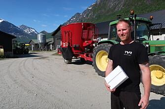 Oddbjørn vant iPad