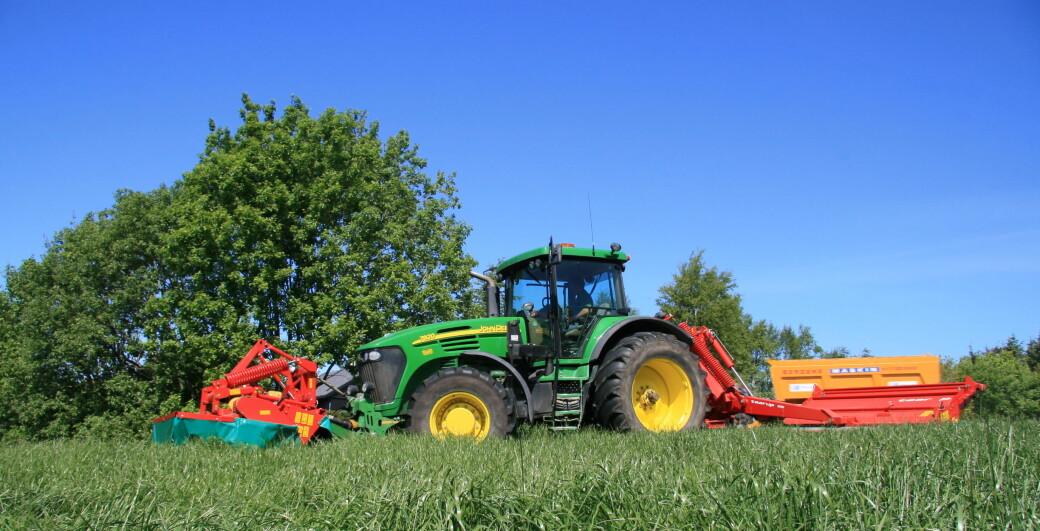 Det selges over 20 000 brukte traktorer i året her til lands.