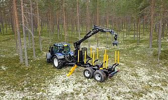 Kronos med ny tømmerhenger for proffbruk
