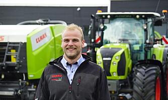 Ny mann på traktor hos Norwegian Agro