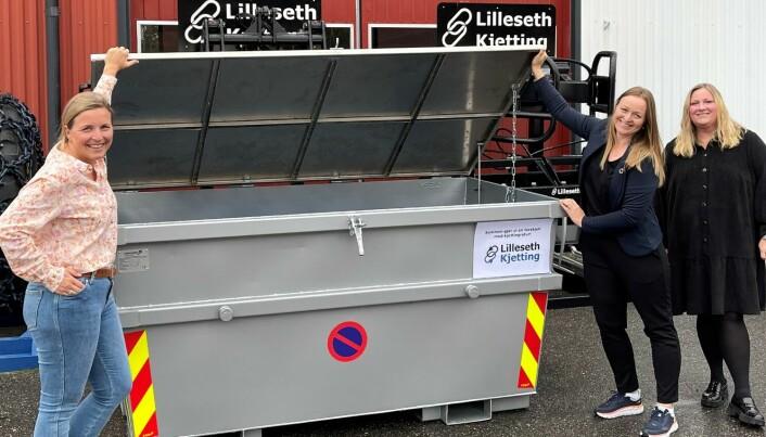 Nå kommer returcontainere med pantelapp for landbruket