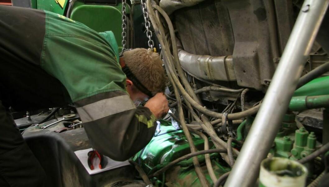 En dyktig mekaniker på verkstedet kan sikre neste salg.