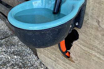 Denne vannslangen skal tåle ned til minus 30 grader