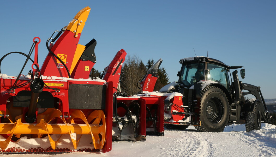 Vi har testet snøfresere fra Duun, Globus, Dalen og Tokvam.